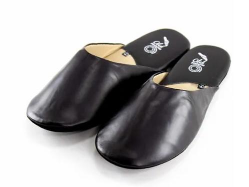 Traveler Slippers Black