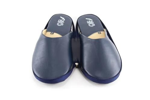 Traveler Slippers Blue