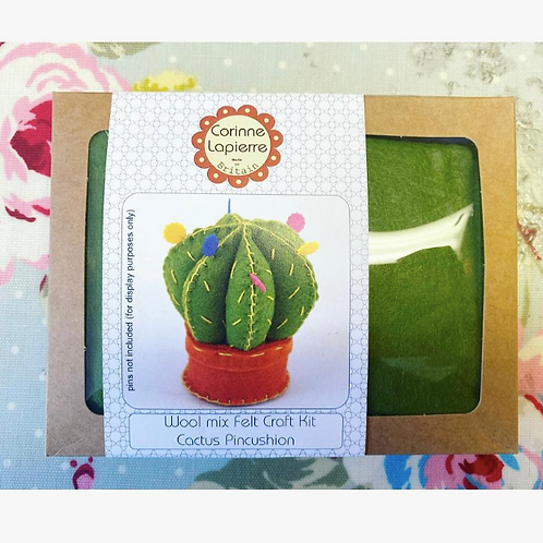 Cactus Pin Cushion Sewing Kit