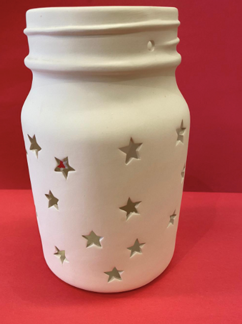 Large Star Jar