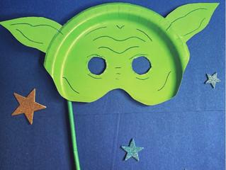Yoda Mask- happy Star Wars day!