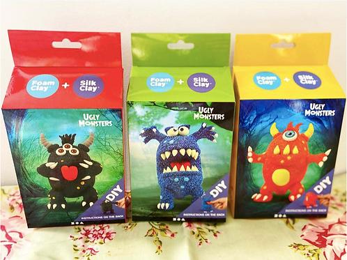 Ugly Monster Foam & Silk Clay Kit