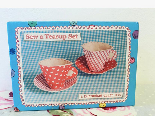 Tea Cup Sewing Kit