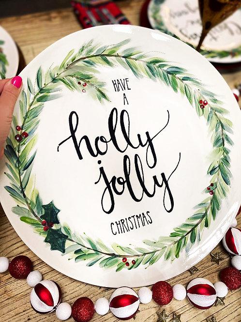 Bespoke Christmas Platter- made by us!
