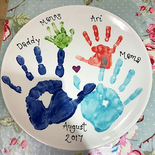 "Large 38"" platter- great for family prints!"