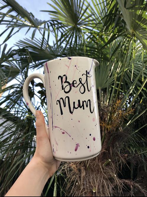 Mother's Day 'Best Mum' 1.5 litre jug