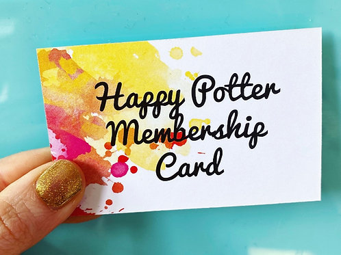 Very Important Potter - Membership Card
