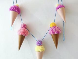 How to use your pom-pom maker.. For Ice Cream Pom-Pom Bunting & Keyring kits