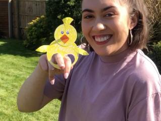 Ella's Little Chick Puppet