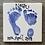 "Thumbnail: Hand & Footprint Home Kit- Large 6"" Tile"