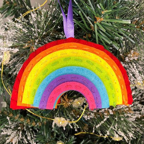 Christmas decoration craft kit - Rainbow