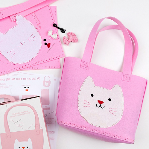 Sew Your Own Cookie The Cat Tote Bag Kit