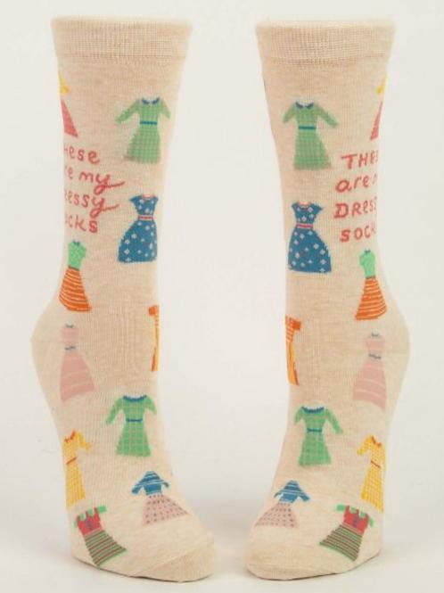 My Dress Socks Woman's Crew Socks