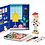 Thumbnail: Petit Collage Design Your Own Fashion Magnetic Play Set