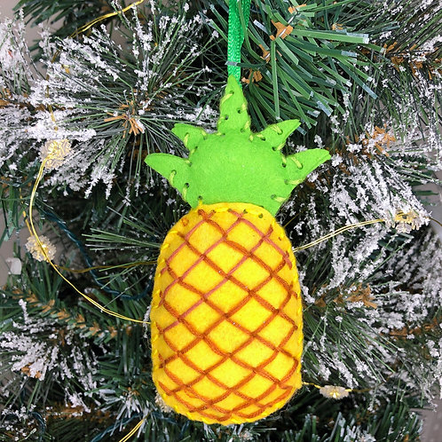Christmas decoration craft kit - Pineapple