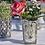 Thumbnail: Antique silver Glass tea lightHolder
