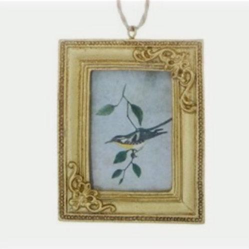 Square Gold Mini Hanging Frame