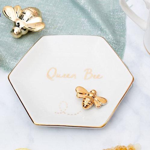 Queen Bee Trinket Dish