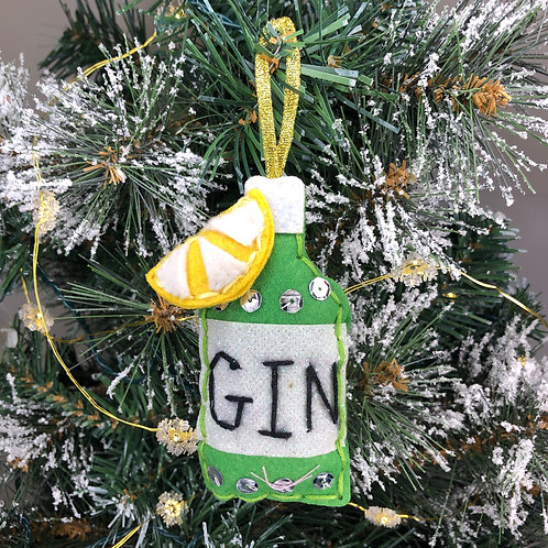 Christmas decoration craft kit - Gin