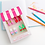 Thumbnail: La Petite Boutique Set Of 8 Pretty Shoe Erasers