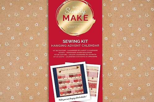 Hanging Advent CalendarSewing Kit