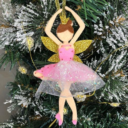 Christmas decoration craft kit - ballerina