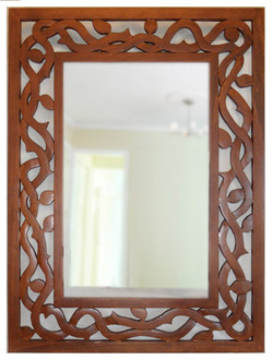 double vine mirror