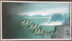 Kinetic Wave Art