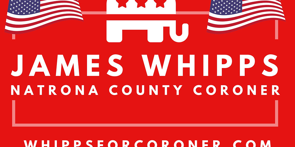 PRIMARY- VOTE FOR JAMES WHIPPS Aug 18