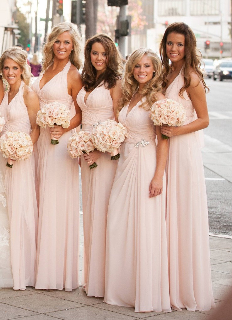 bridesmaids fitting