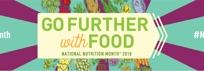 It's National Nutrition Month!