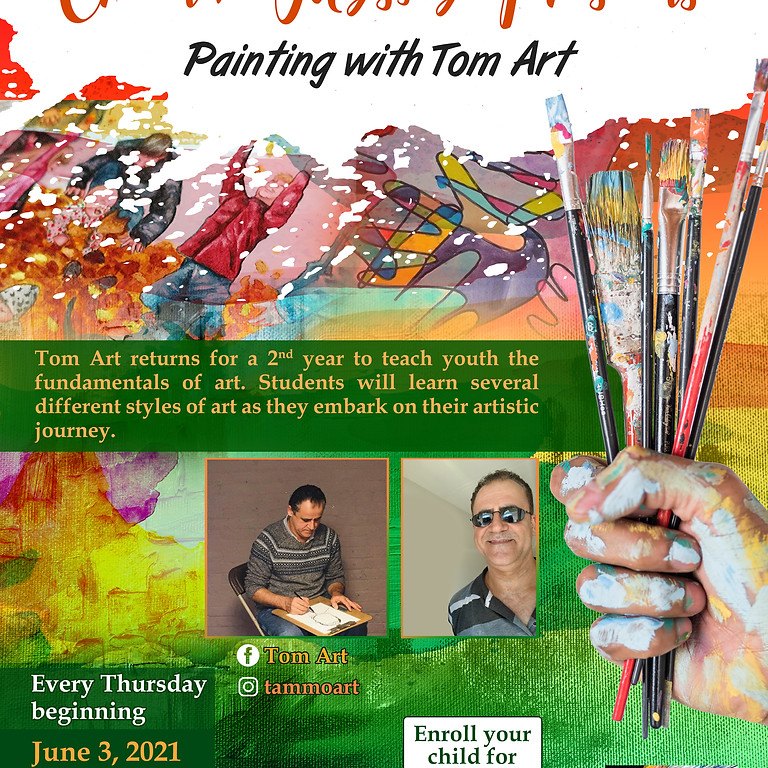Painting with Tom Art