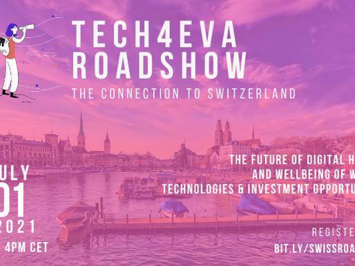 Tech4Eva Zurich Roadshow - 1st July 2021