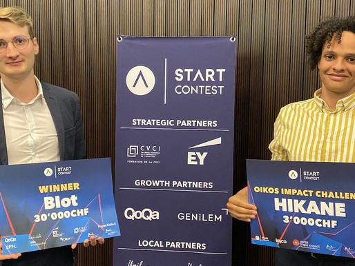 BioT remporte le 10ème START Lausanne Contest