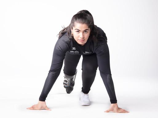 Sofia Gonzalez, athlète suisse paralympique, sélectionnée pour les Jeux de Tokyo 2021