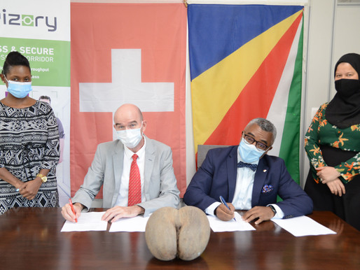 Travizory, startup based in Neuchâtel,sign with Rep of Seychelles for its border management solution