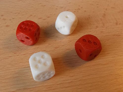 Rounded dice (7 pcs)