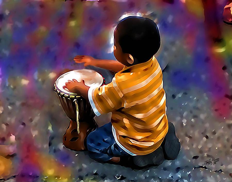 The Little Drummer Boy by James Mingo
