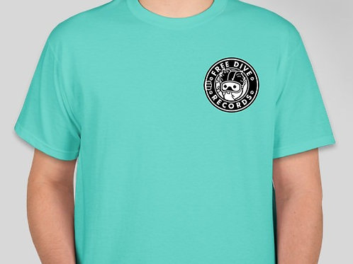 Free Dive T-Shirt (Scuba Green)