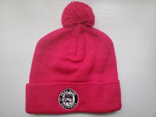 Free Dive Beanie Pom (Pink)