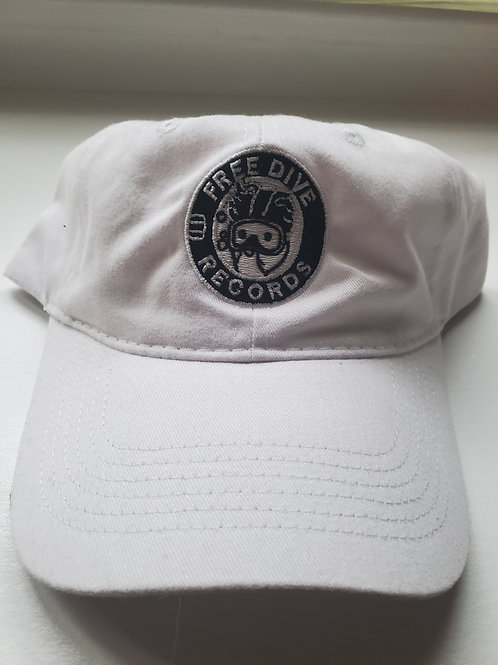 Free Dive Dad Hat (white)
