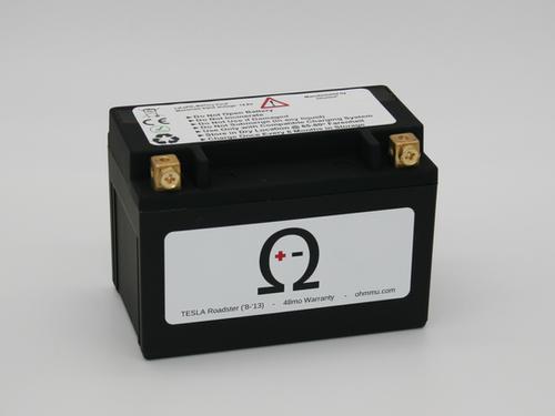 12V Lithium Battery for TESLA Roadster | ohmmu.com