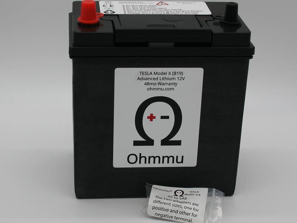 12V Lithium Battery for TESLA Model X