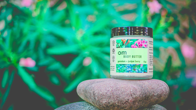NEW PRODUCT: OM BODY BUTTER