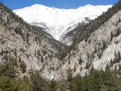 Mt Princeton & Agnes Vaille water falls.