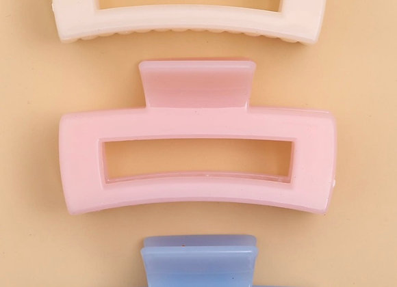 Rectangle Claw Clips