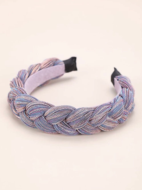 'Violet's Are Blue' Braided Headband