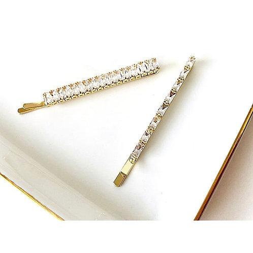 Square Diamond Pin Set