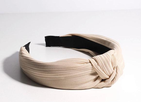 Pleated Topknot Headband