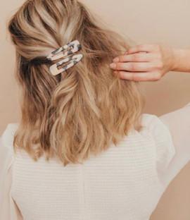 Leopard Hair Clip Set